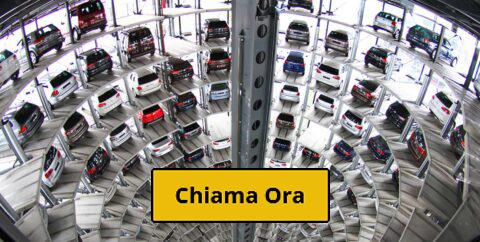Recupero-con-carro-attrezzi-di-veicoli-nei-garage-multipiano